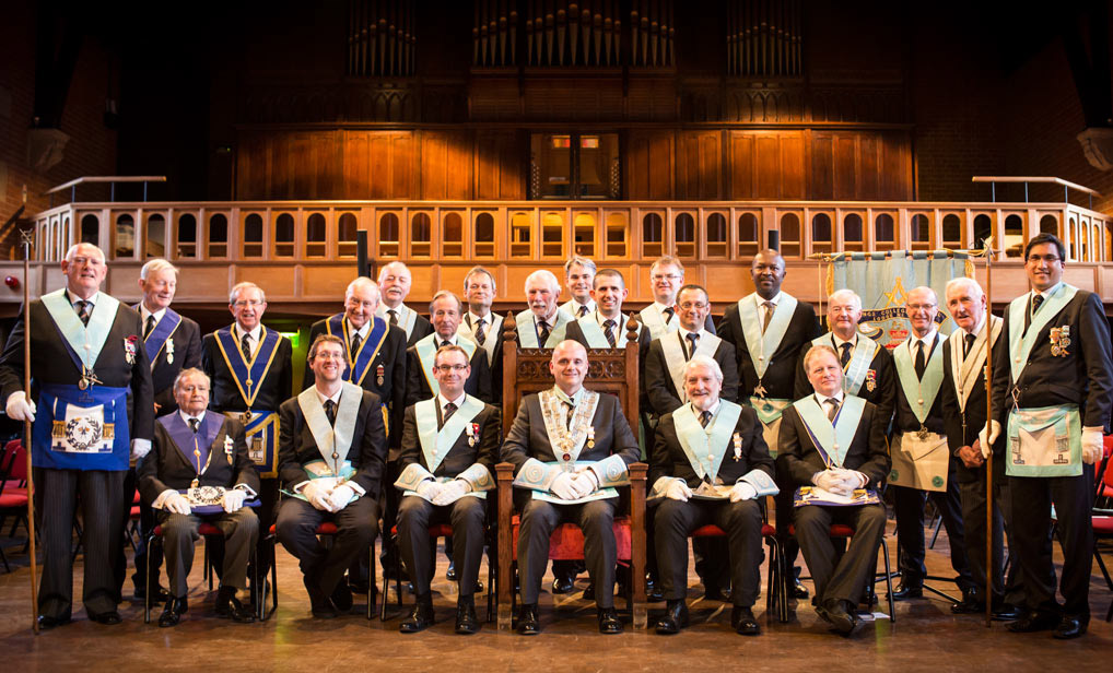 KCS Lodge 4257 in the Great Hall