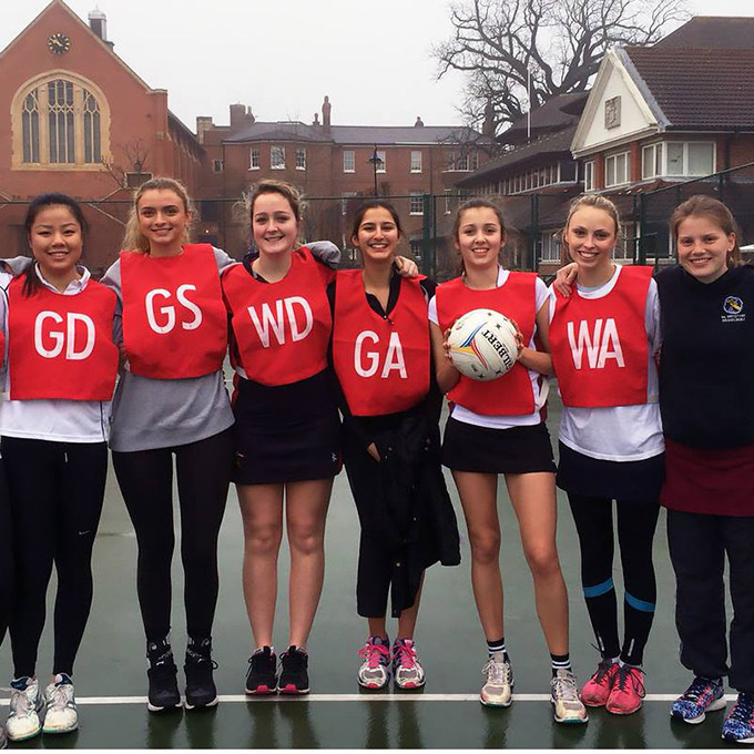 Annual netball tournament