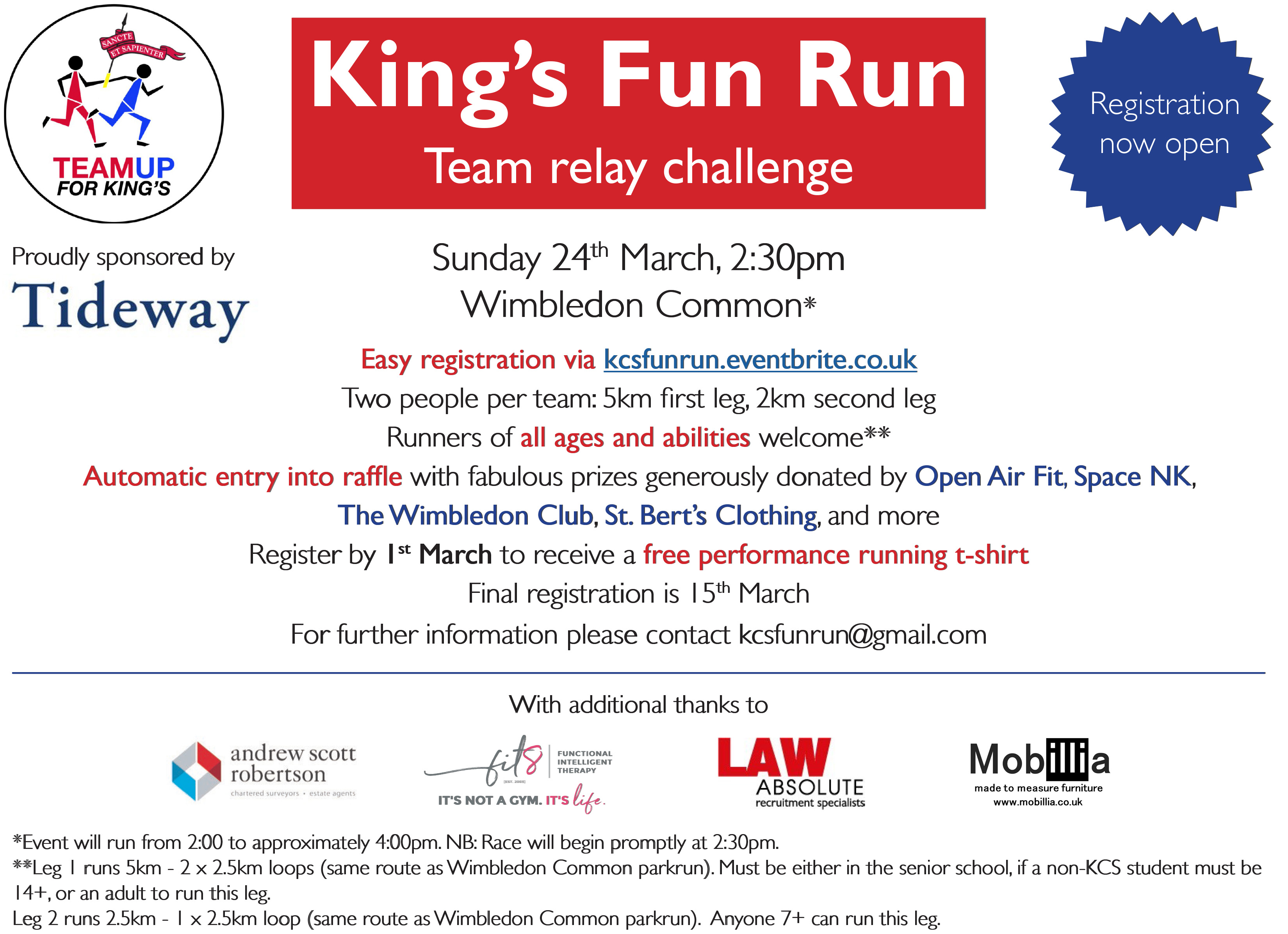 King's Fun Run