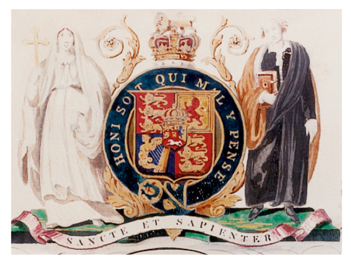 King's coat of arms